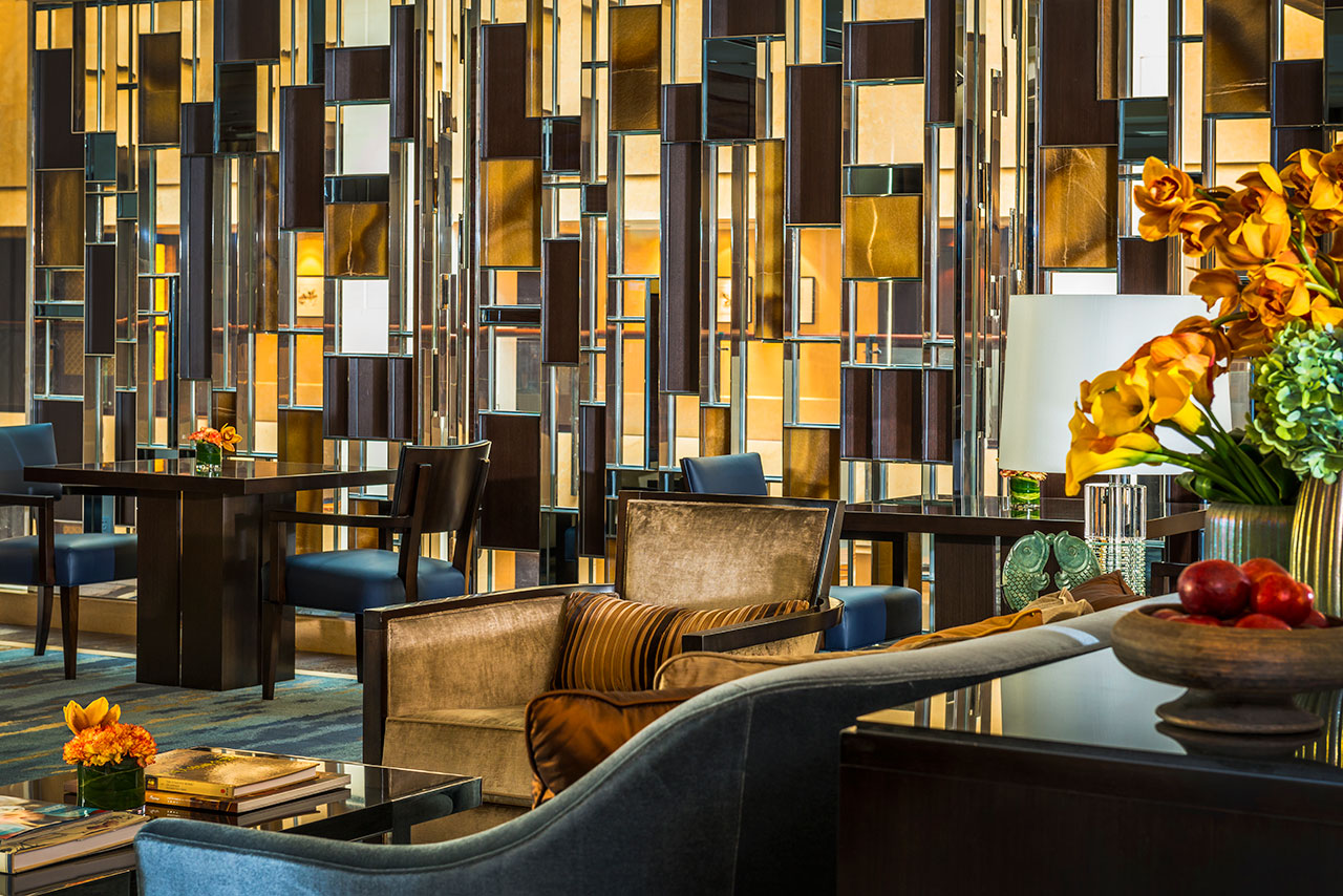 Hba project four seasons hotel beijing for Hotel wall design